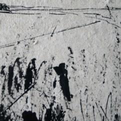 inkt, handgeschept papier