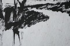 inkt, handgescheptpapier